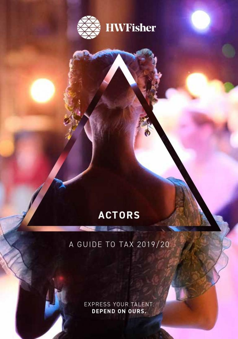 Actors-Tax-Guide-2019