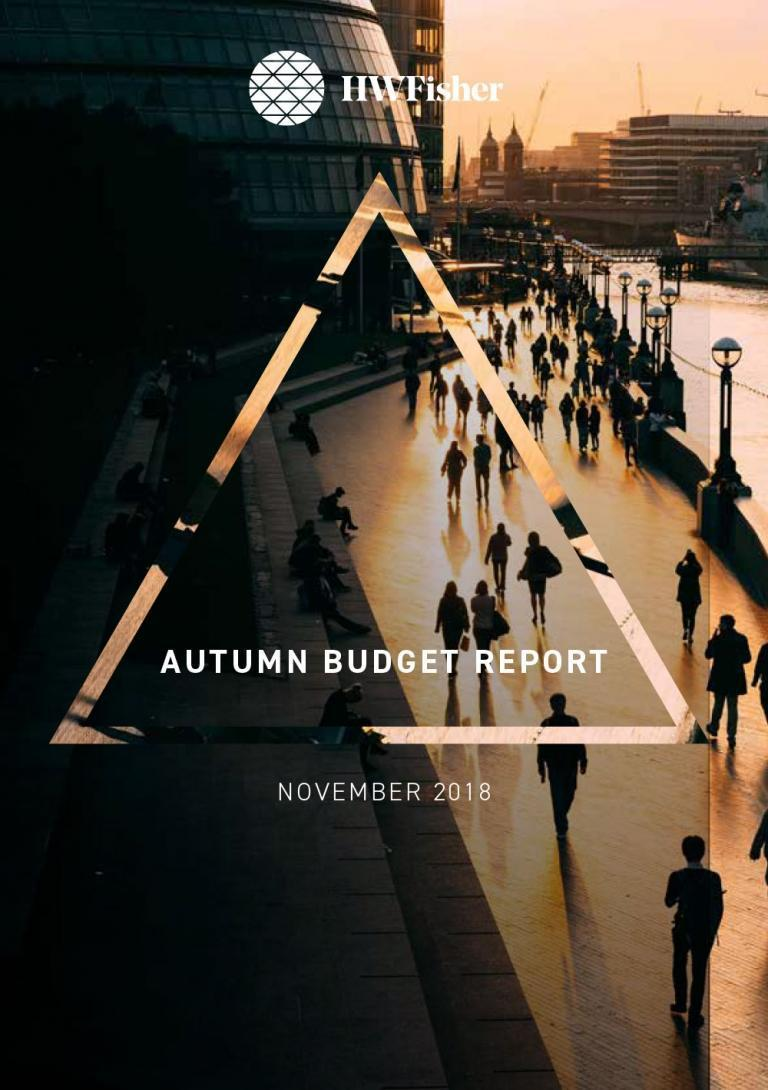 Autumn Budget Report Nov 2018