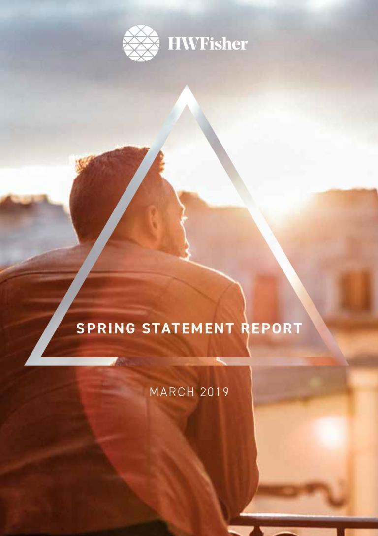 Spring Statement Report March 2019